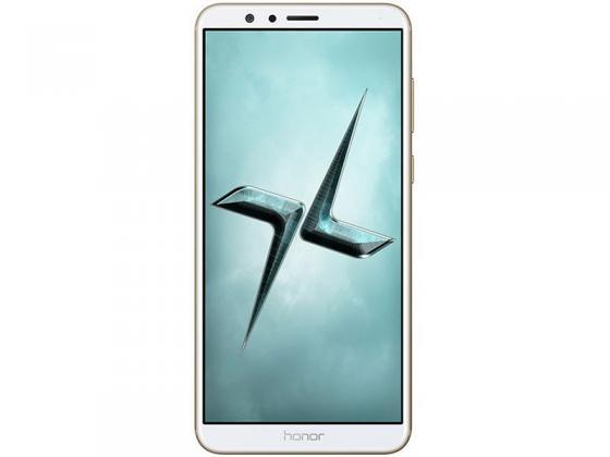 Смартфон Honor 7X золотистый 5.9 64 Гб LTE Wi-Fi GPS 3G BND-L21 51091YUA смартфон honor 10 64 гб черный 51092jvu