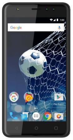 Смартфон Vertex Impress Game графитовый 5 8 Гб Wi-Fi GPS 3G VGM-GRF смартфон vertex impress game черный 5 8 гб wi fi gps 3g vgm blk
