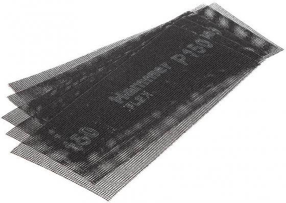 Сетка абразивная Hammer Flex 242-006 115х280мм, P150, водостойкая (5шт.) 3529 006 71