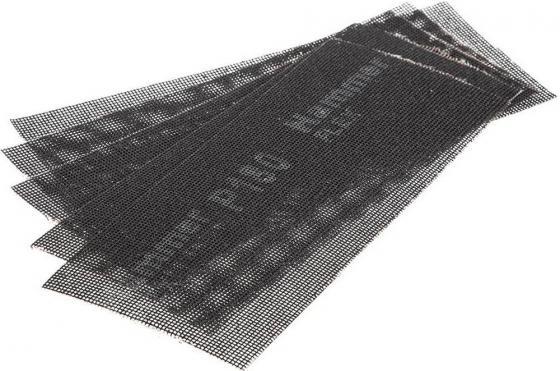 Сетка абразивная Hammer Flex 242-008 115х280мм, P180, водостойкая (5шт.) ������������������ ���������������� ������ ������ �������������������� ���������� 125���� ��14 242 656