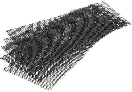 Сетка абразивная Hammer Flex 242-009 115х280мм, P220, водостойкая (5шт.)