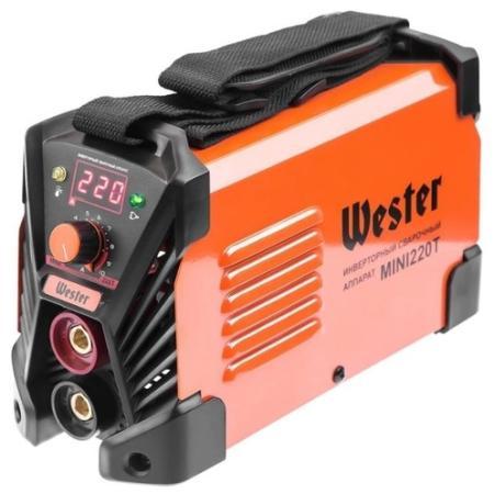 Сварочный инвертор Wester MINI 220T набор wester инвертор сварочный compact 180 ушм hammer flex usm500le