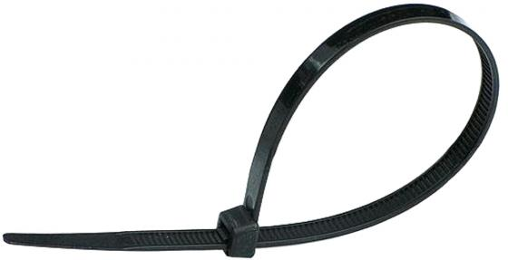 цена Хомут нейлоновый Hammer Flex 235-006 4,8*300мм, черный, упаковка 100 штук онлайн в 2017 году
