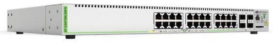 Коммутатор Allied Telesis AT-GS970M/28PS-50 24G 4SFP 24PoE 12PoE+ 370W управляемый коммутатор allied telesis at gs970m 28ps 50 24g 4sfp 24poe 12poe 370w управляемый