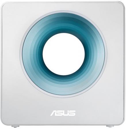 Маршрутизатор ASUS Blue Cave 802.11acbgn 1734Mbps 2.4 ГГц 5 ГГц 4xLAN белый цены онлайн