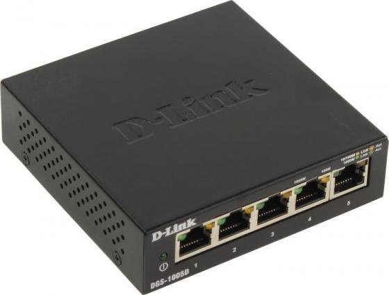 Коммутатор D-Link DGS-1005D/I3A 5G неуправляемый стоимость