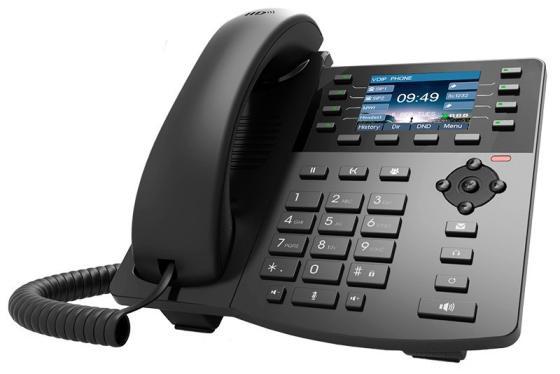 Телефон IP D-Link DPH-150SE/F5 черный телефон