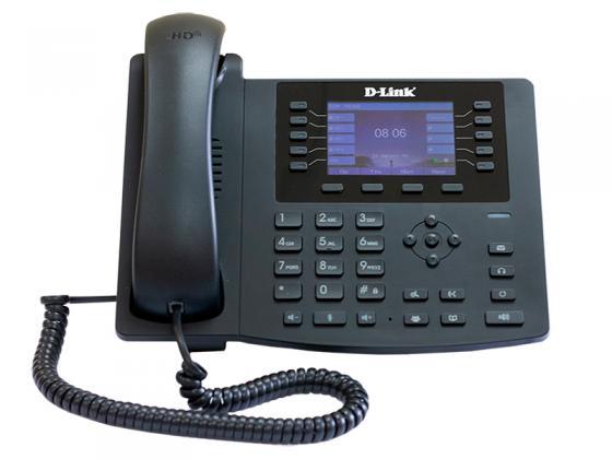 Телефон IP D-Link DPH-400GE черный