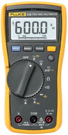 Мультиметр Fluke 2583583 (FLUKE-115 EUR) мультиметр мегомметр fluke 1587t
