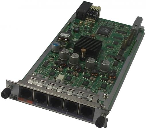Интерфейсная карта Huawei AR0MSVA4B1A0 (03020RMY) 4-Port FXS and 1-Port FXO Voice it8728f fxs