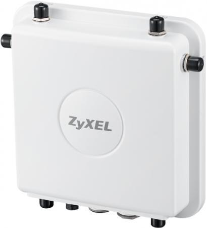Точка доступа Zyxel WAC6553D-E (WAC6553D-E-EU0201F) AC1750 10/100/1000BASE-TX белый сетевой экран zyxel usg 40 usg40 ru0101f 10 100 1000base tx