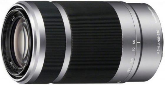 Объектив Sony SEL55210 (SEL55210.AE) 55-210мм f/4.5-6.3 объектив sony dt 55 200mm f 4 5 6 sam sal 55200 2