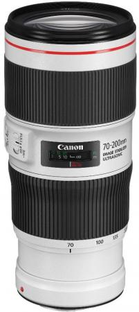 Объектив Canon EF II USM (2309C005) 70-200мм f/4L черный объектив canon ef 16 35 mm f 4l is usm