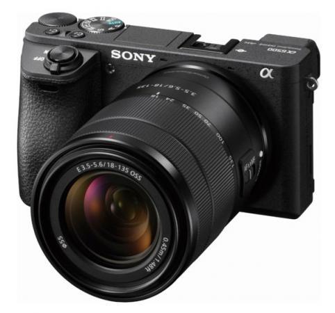 """цена на Фотоаппарат Sony Alpha A6500M черный 24.3Mpix 3"""" 1080p WiFi E 18-135 mm f/3.5-5.6 OSS NP-FW50"""