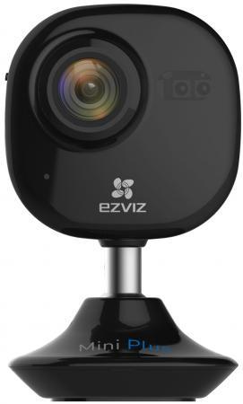 Видеокамера EZVIZ CS-CV200-A0-52WFR CMOS 1/2.7 2.8 мм 1920 x 1080 H.264 Wi-Fi черный ip камера ezviz c2 mini plus black cs cv200 a1 52wfr b
