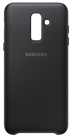 Чехол (клип-кейс) Samsung для Samsung Galaxy J8 (2018) Dual Layer Cover черный (EF-PJ810CBEGRU)