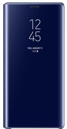 Чехол (флип-кейс) Samsung для Samsung Galaxy Note 9 Clear View Standing Cover синий (EF-ZN960CLEGRU) чехол для samsung galaxy s8 sm g950 clear view standing cover синий