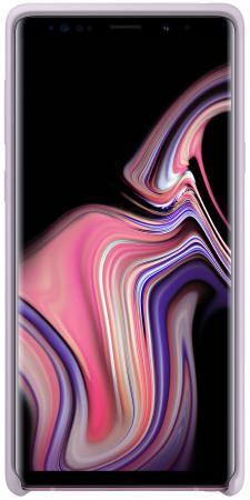 Чехол (клип-кейс) Samsung для Samsung Galaxy Note 9 Silicone Cover фиолетовый (EF-PN960TVEGRU)