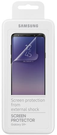 Защитная пленка для экрана Samsung ET-FG965CTEGRU для Samsung Galaxy S9+ прозрачная 1шт. защитная пленка luxcase для samsung galaxy s9