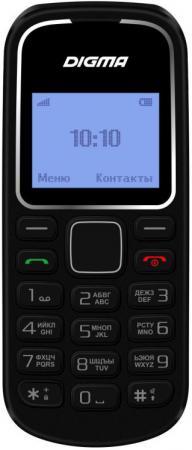 Мобильный телефон Digma Linx A105 2G черный 1.44 сотовый телефон digma linx alfa 3g black