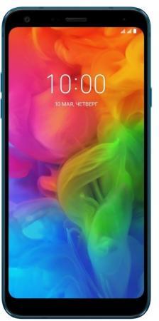 Смартфон LG Q7 синий 5.5 32 Гб LTE NFC Wi-Fi GPS 3G LMQ610NM.ACISBL смартфон lg q6 синий 5 5 64 гб nfc lte wi fi gps 3g lgh870ds acisun