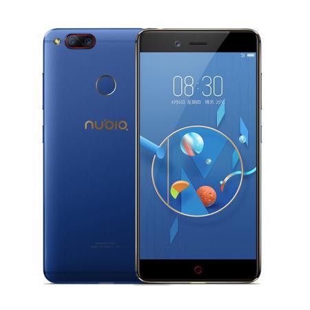 """Смартфон ZTE Nubia Z17 Lite синий золотистый 5.5"""" 64 Гб LTE NFC Wi-Fi GPS 3G недорго, оригинальная цена"""