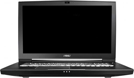Ноутбук MSI WT75 8SL-023RU 17.3 1920x1080 Intel Core i7-8700 1 Tb 256 Gb 32Gb nVidia Quadro P4200 8192 Мб черный Windows 10 Professional 9S7-17A512-023 msi original zh77a g43 motherboard ddr3 lga 1155 for i3 i5 i7 cpu 32gb usb3 0 sata3 h77 motherboard