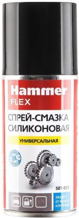 все цены на Силиконовая спрей-смазка Hammer Flex 501-025 универсальная 150 мл