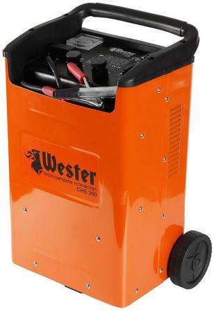 Пуско-зарядное устройство WESTER CHS 360 1600-10000 Вт 12/24В 75/50/360А бустер пуско зарядное устройство wester chs540