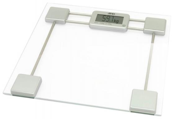 Весы напольные электронные A&D UC-200 макс.200кг прозрачный/белый цепочка d&amp amp g цепочка d&amp amp g фуксия