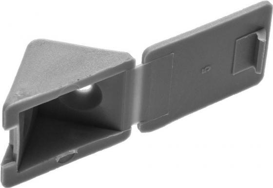 Уголок ЗУБР 4-308256-6  мебельный с шурупом, цвет св-серый, 4,0x15мм, 4шт
