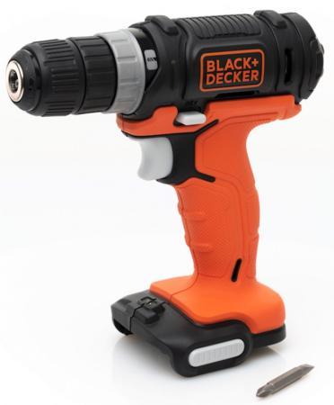 Дрель-шуруповерт Black & Decker BDCDD12USB-XJ аккум. патрон:быстрозажимной