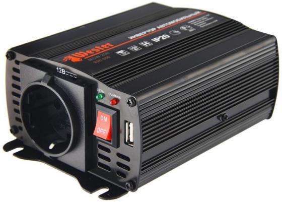 Преобразователь инверторный а/м WESTER MSW250 12-220В+USB; 250Вт модифицированная синусоида преобразователь инверторный а м wester msw250 12 220в usb 250вт модифицированная синусоида
