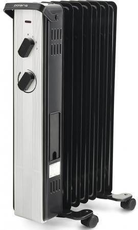 Масляный радиатор Polaris PRE A 0715 1500 Вт чёрный цена