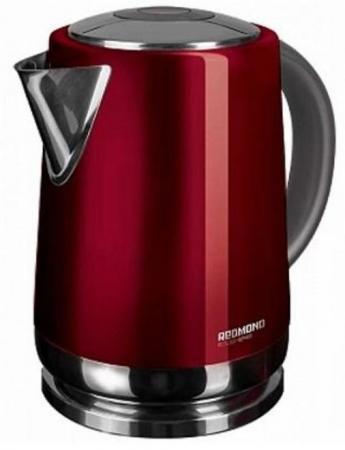 Чайник электрический Redmond RK-M148 1.7л. 2200Вт красный (корпус: нержавеющая сталь) цена и фото