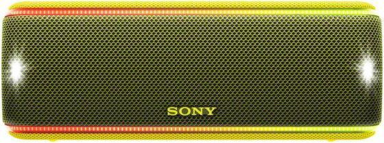 Колонка порт. Sony SRS-XB31 желтый 30W 2.0 BT/3.5Jack 30м (SRSXB31Y.RU2) колонка sony srs xb31 blue