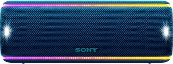 Колонка порт. Sony SRS-XB31 синий 30W 2.0 BT/3.5Jack 30м (SRSXB31L.RU2) колонка sony srs xb31 blue