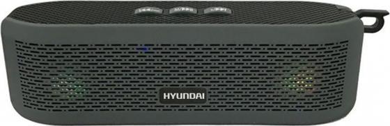 Колонки Hyundai H-PAC180 1.0 черный 6Вт беспроводные BT беспроводные колонки к компьютеру