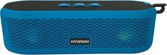 Колонки Hyundai H-PAC200 1.0 синий 6Вт беспроводные BT беспроводные колонки к компьютеру