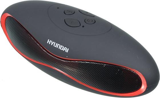 Купить Колонки Hyundai H-PAC100 1.0 черный 3Вт беспроводные BT, 1 колонка