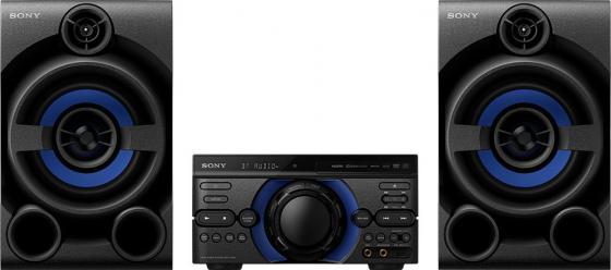 Минисистема Sony MHC-M40D черный/CD/CDRW/DVD/DVDRW/FM/USB/BT музыка cd dvd sony ck65122 the dave brubeck quartet time out cd