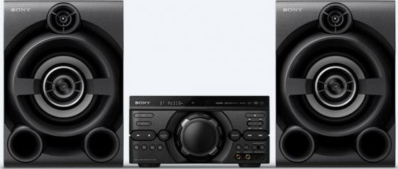 цена на Минисистема Sony MHC-M60D черный/CD/CDRW/DVD/DVDRW/FM/USB/BT