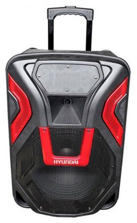 Минисистема Hyundai H-MC140 черный 500Вт/FM/USB/BT/SD/MMC футболка с полной запечаткой мужская printio battlefield v