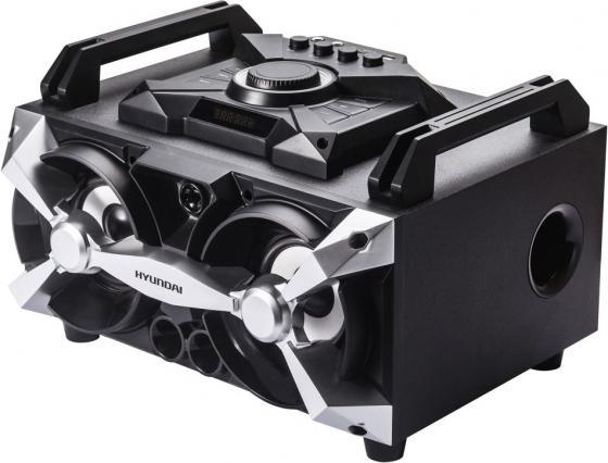 Минисистема Hyundai H-MAC100 черный 60Вт/FM/USB/BT/SD/MMC sd one 36