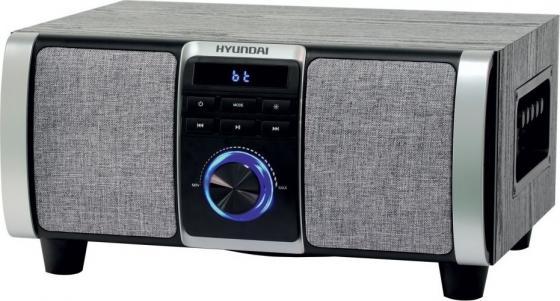 Купить Минисистема Hyundai H-MAC120 серый 60Вт/FM/USB/BT/SD/MMC
