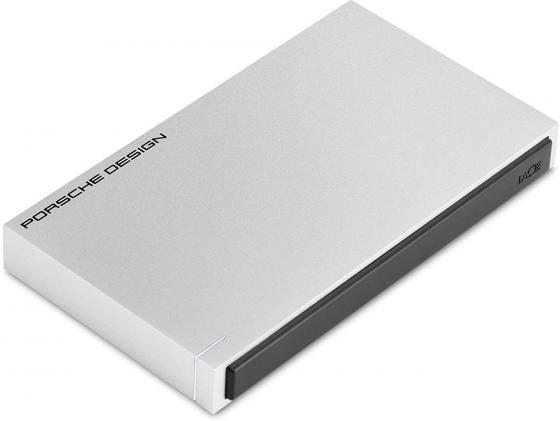 """Накопитель на жестком магнитном диске LaCie Внешний жесткий диск LaCie STET1000403 1TB Porsche Design Mobile Drive 2.5"""" P'922 USB 3.0/USB-C light-grey цена"""