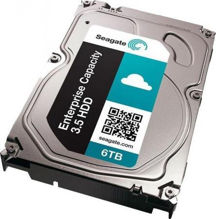Накопитель  жестком магнитном диске Seagate Жесткий  Exos 7E8 HDD 6TB  Enterprise Capacity 4Kn ST6000NM0105 3. SAS 12Gb/ 256Mb 7200rpm