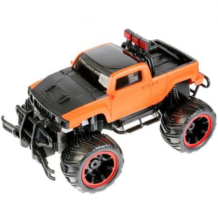 Машинка на радиоуправлении TONGDE Гонка чемпионов оранжевый от 6 лет пластик, металл T75-D3162 военный автомобиль на радиоуправлении tongde в72398 пластик от 3 лет зелёный