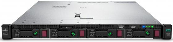 Сервер HP DL360 Gen10, 1(up2)x 3104 Xeon-B 6C 1.7GHz, 1x8GB-R DDR4, S100i/ZM (RAID 0,1,5,10) noHDD (4 LFF 3.5'' HP) 1x500W (up2), 4x1Gb/s, noDVD, iLO5, Rack1U, 3-3-3