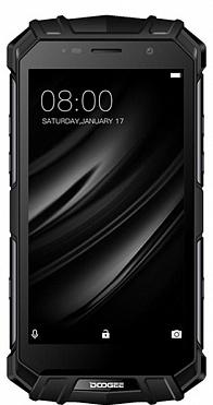 Смартфон Doogee S60 Black, 5.2'' 1920x1080, 2.6GHz, 8 Core, 6GB RAM, 64GB, up to 128GB flash, 21Mpix/8Mpix, 2 Sim, 2G, 3G, LTE, BT, Wi-Fi, NFC, GPS, Micro-USB, 5580mAh, Android 7.0, 164x81x15.5, IP68, технология беcпроводной зарядки смартфон honor 10 128gb phantom green kirin 970 2 36ghz 4gb 128gb 5 84 2280x1080 2 sim 3g lte bt wi fi 16mp 24mp 24mp gps glonas android 8 1